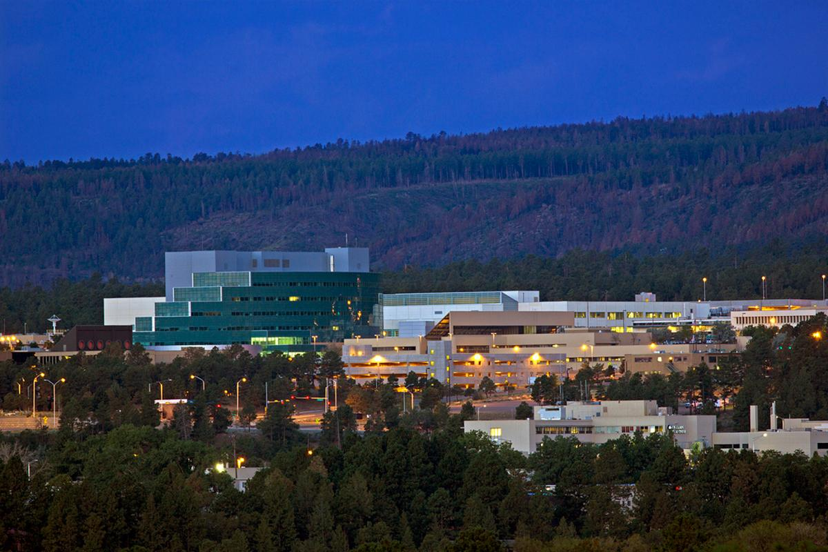 Los Alamos National Laboratory, where the United States' nuclear arsenal was developed