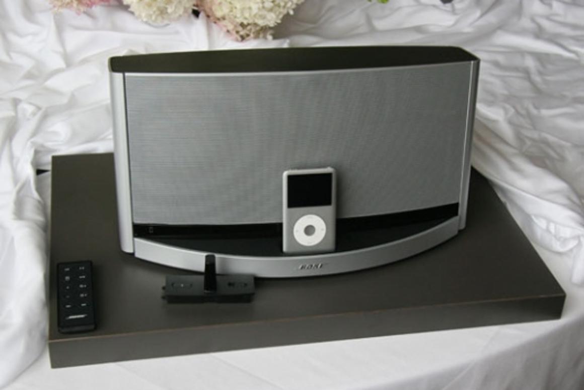 Portable power - the Bose SoundDock 10 digital music system
