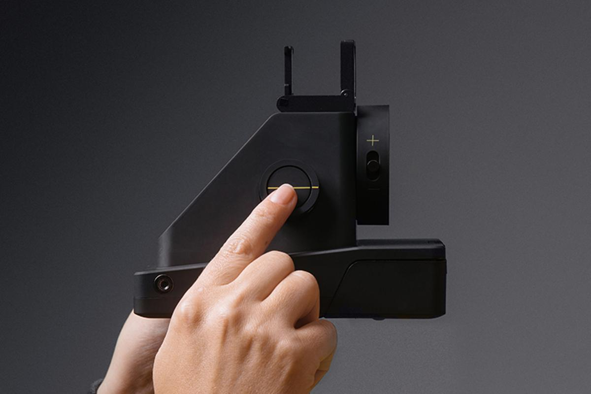 The I-1 analog camera, by Impossible Project