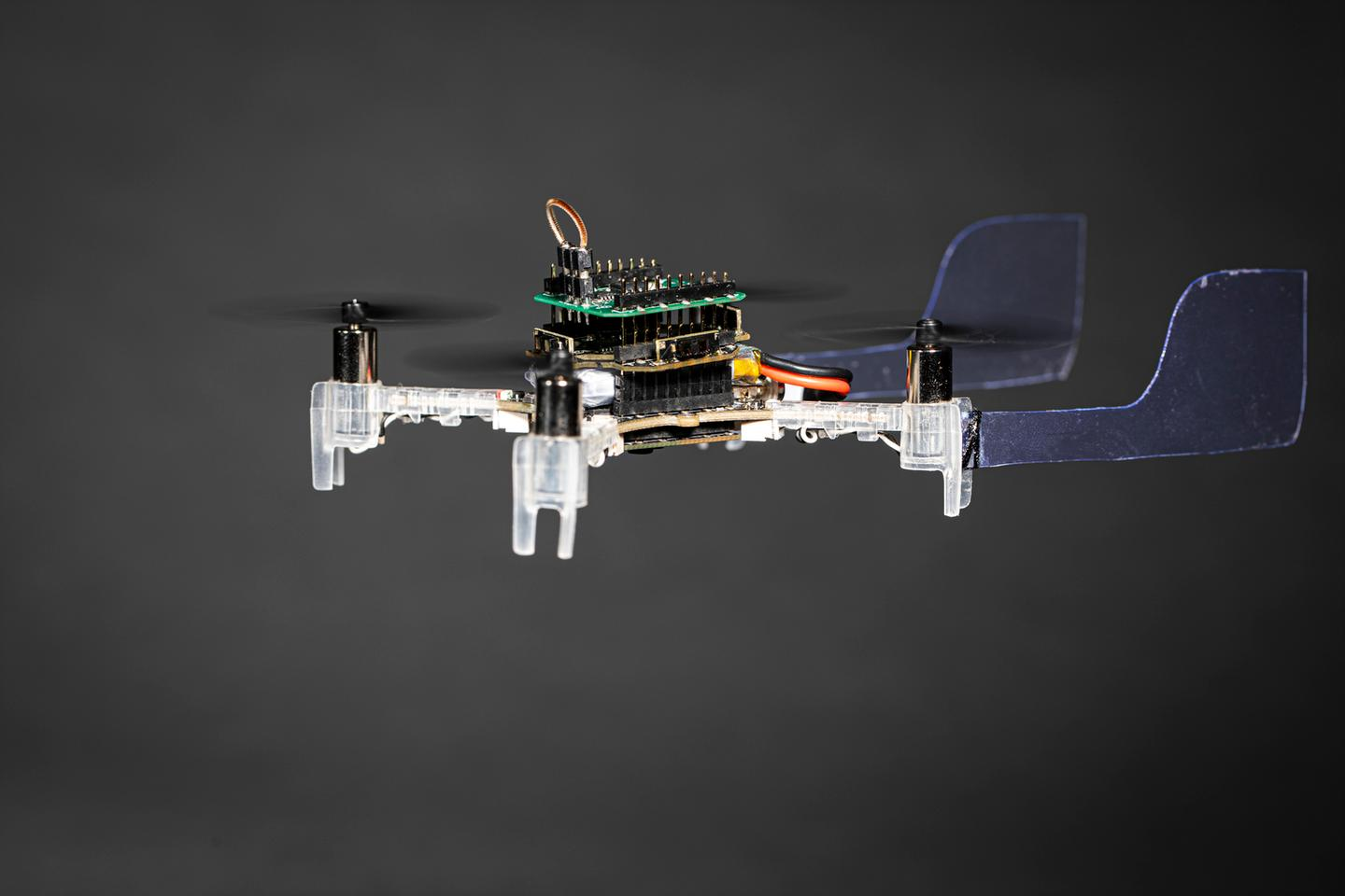 The Smellicopter is a drone that uses a live moth antenna as a smell sensor