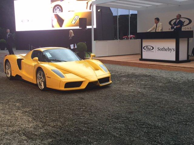 This 2002 Ferrari Enzo (Lot 107) sold for €1,260,000 ($1,387,247) at RM-Sotheby's Villa Erba sale on May 23, 2015.