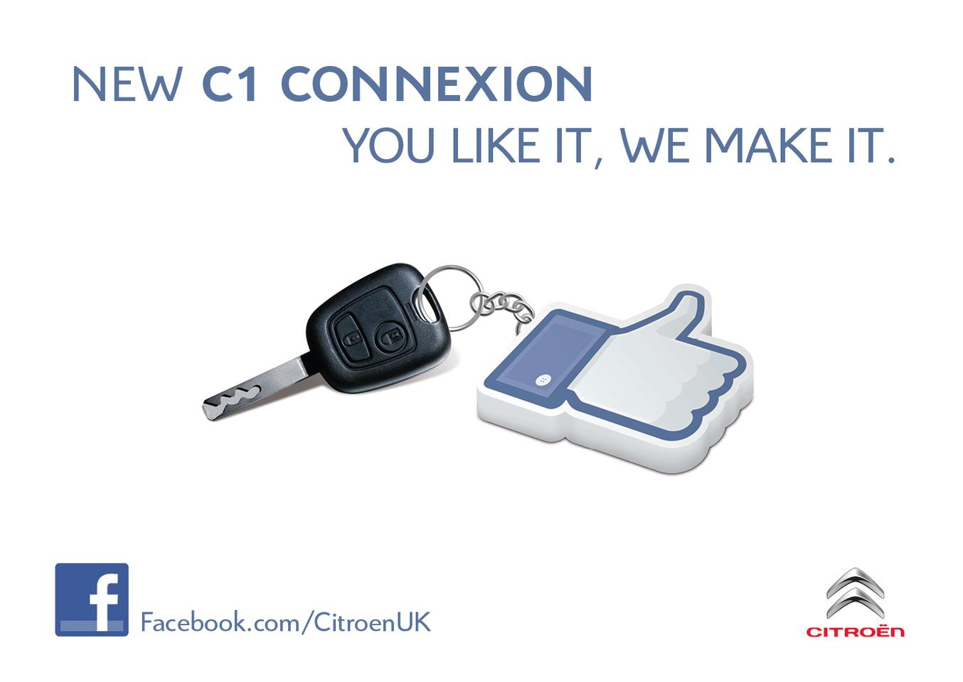 Citroen is crowd sourcing the design of a new C1 variant through Facebook