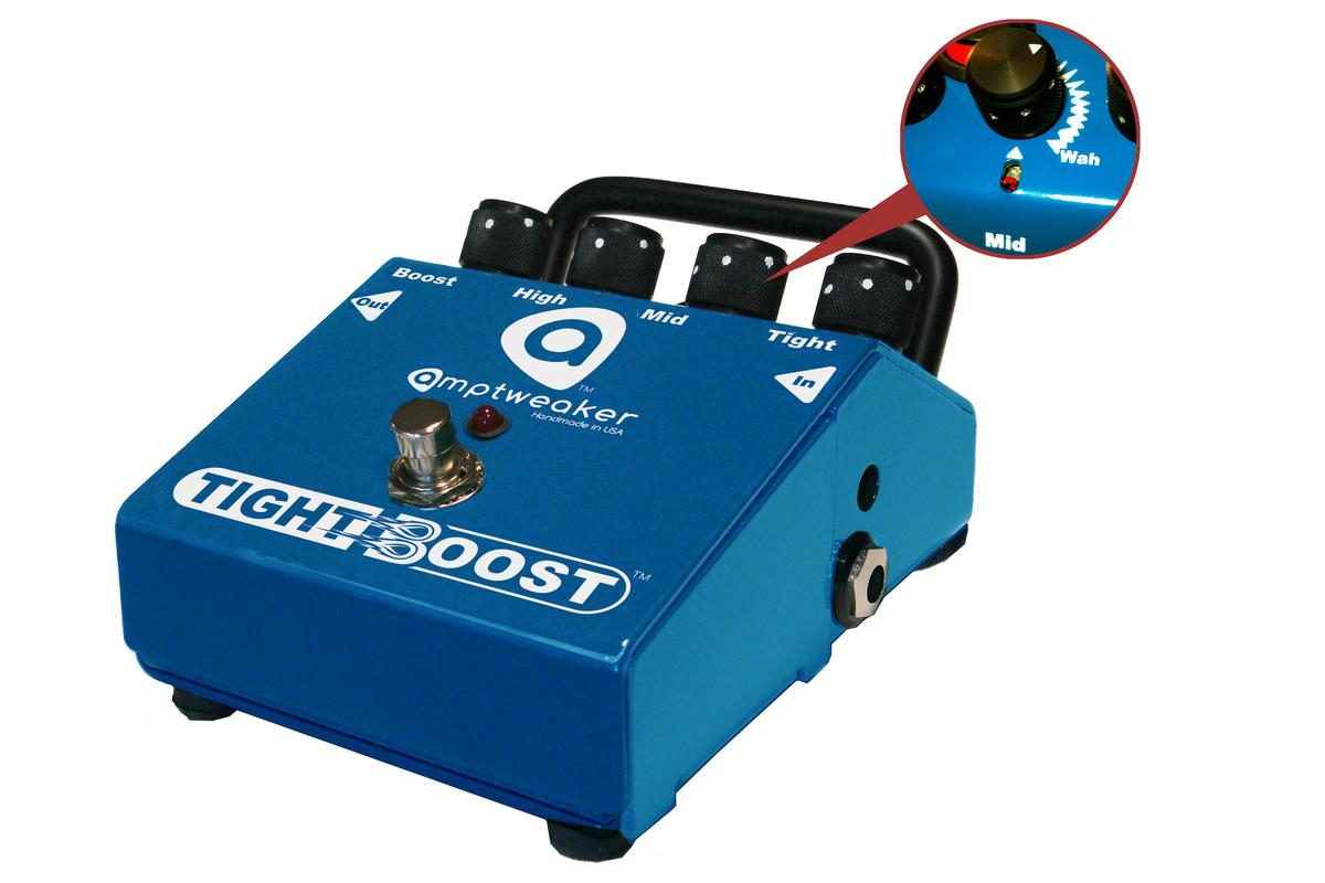 As well as offering players a boosted clean signal with controlled distortion, the new TightBoost from Amptweaker provides the tone of a parked wah pedal