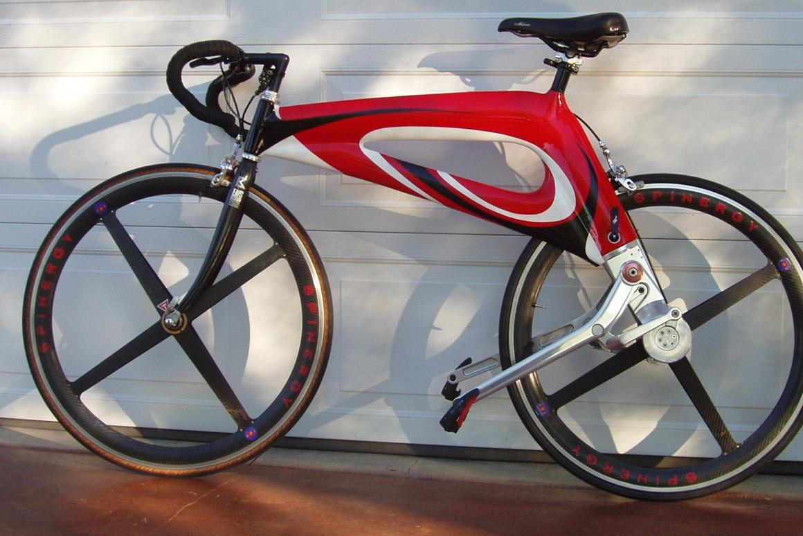 The NuBike road bike prototype – other models are in the works