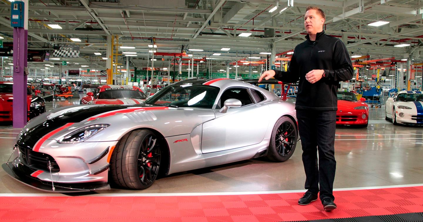 The Viper ACR is powered by the same V10 as the standard Viper