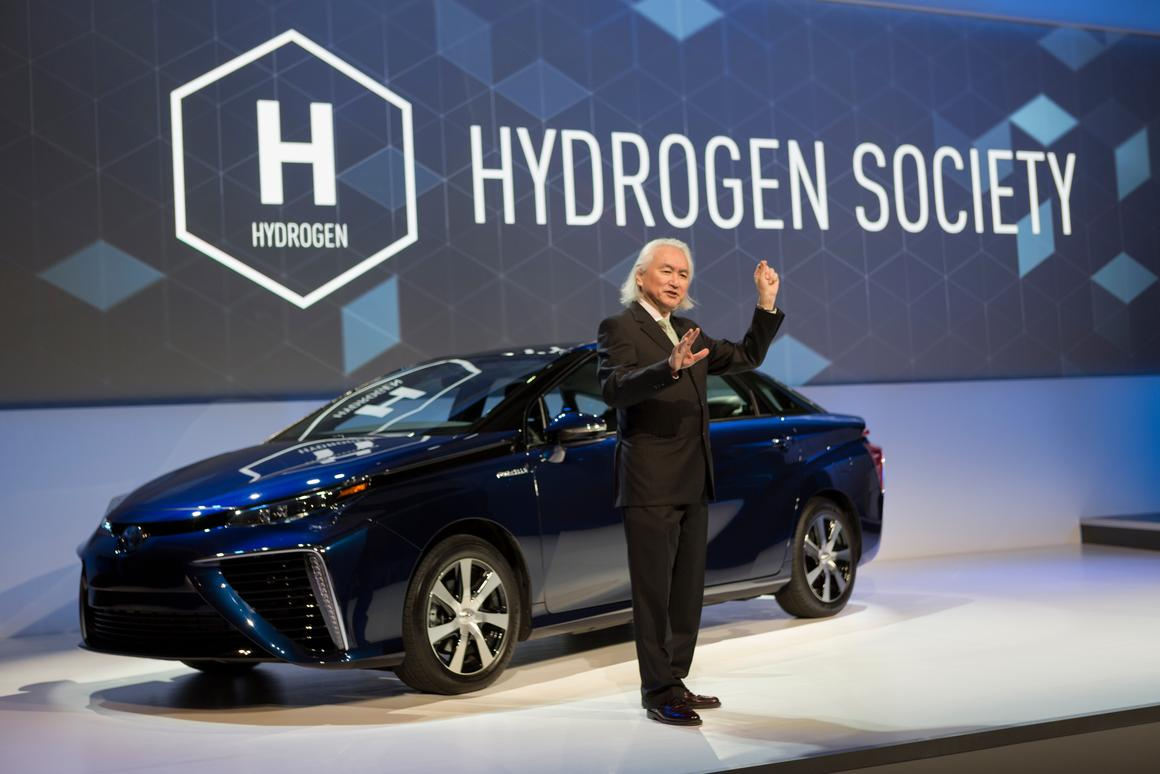 Dr. Michio Kaku speaks at Toyota's CES 2015 press conference