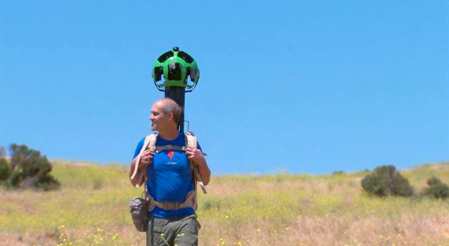 Google's Trekker will bring Street View to hiking trails (Photo: Google)