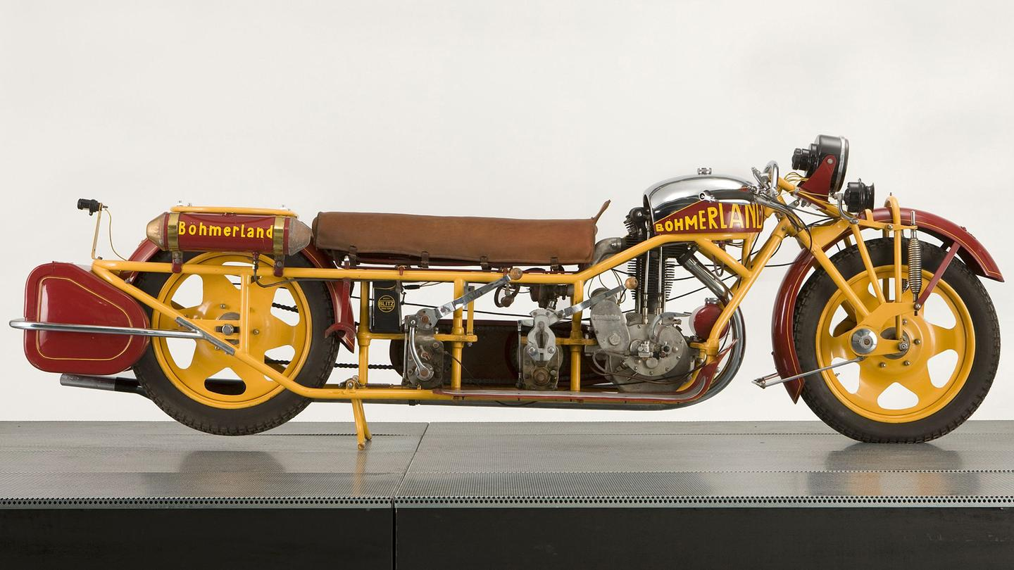 The Bohmerland three-seater motorcycle