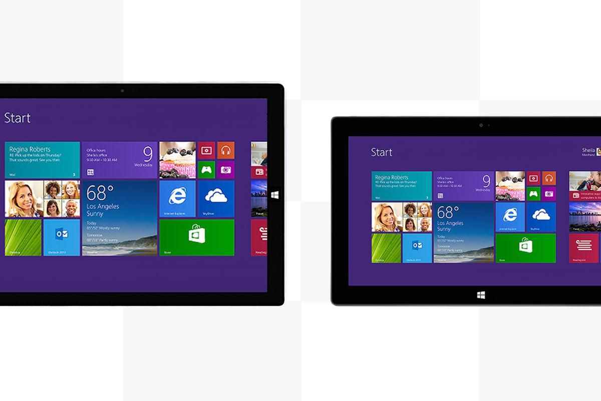 Gizmag compares the features and specs of Microsoft's new (and big) Surface Pro 3 with the Surface Pro 2