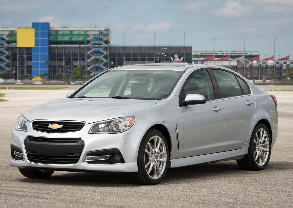 The Chevy SS is the first rear-wheel drive performance sedan from Chevy in nearly two decades