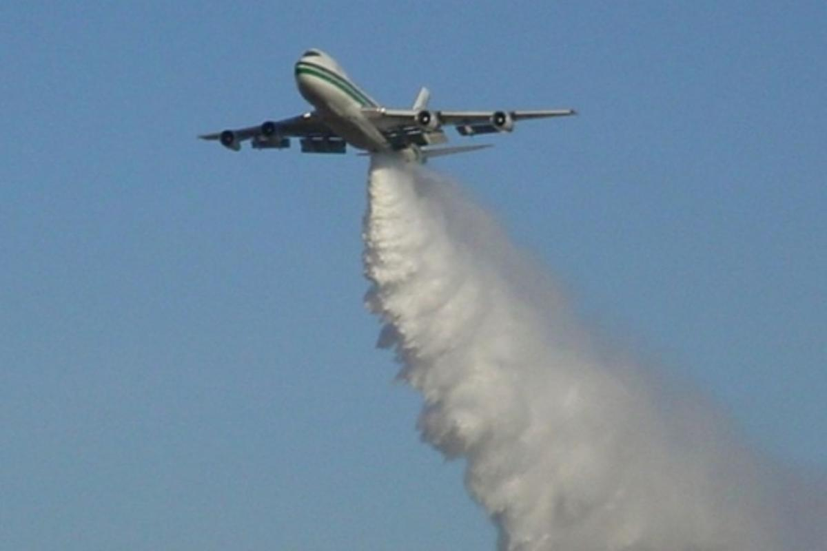 Cloud seeding in action