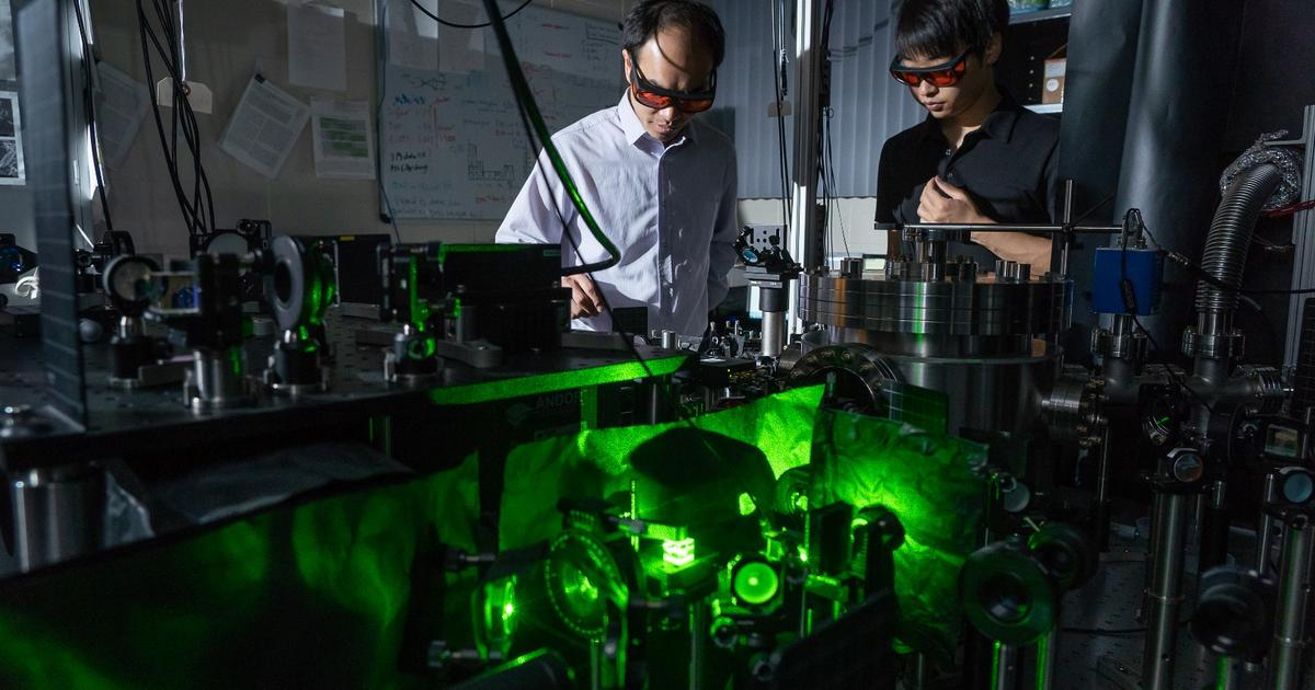 Fastest spinning object in the world hits 300 billion rpm
