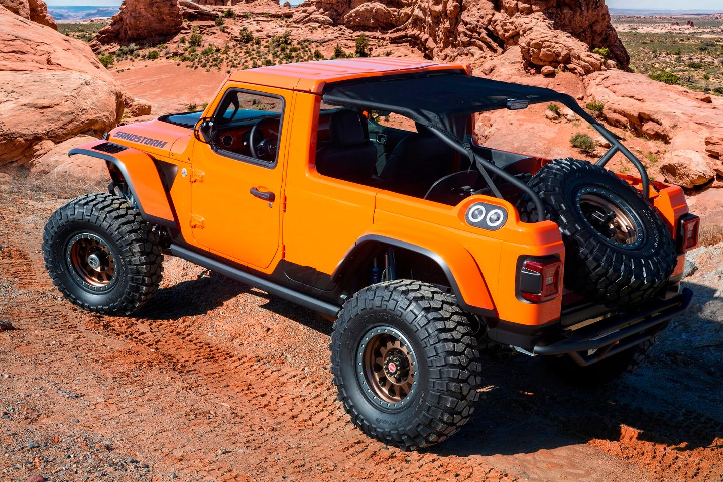 Jeep Sandstorm: inspired by Baja racing