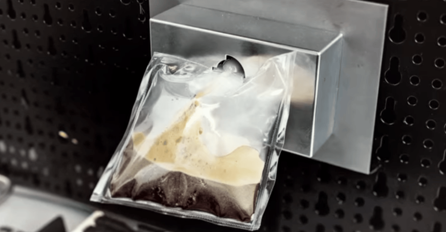 The ISSpresso will bring espresso making to the ISS