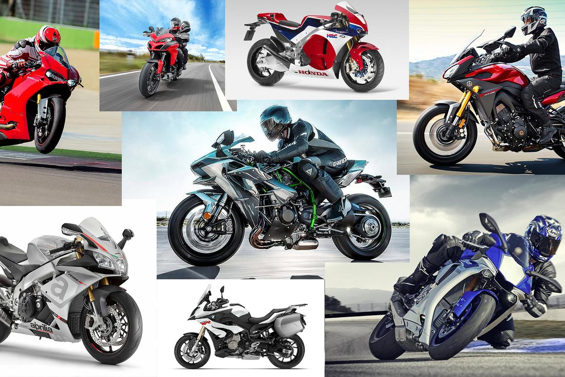 New bikes galore as electronics and 200-plus horsepower superbikes take centre stage at EICMA 2014