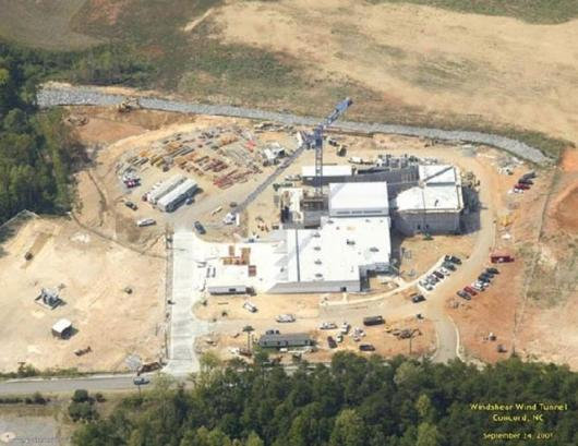 The Windshear facility takes shape in North Carolina.