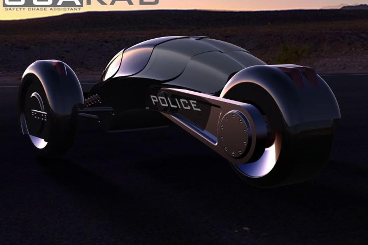 The SCARAB Police Chase Assistant concept