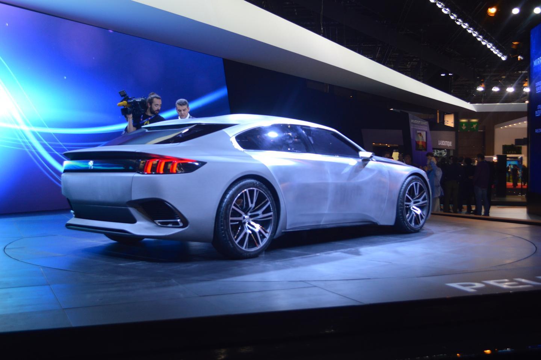 Peugeot updates the EXALT concept for Paris (Photo: C.C. Weiss/Gizmag)