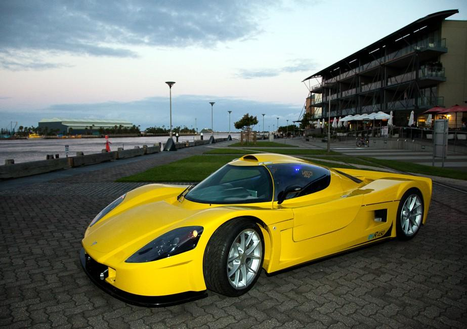 The Varley evR-540 electric supercar will arrive in January 2012