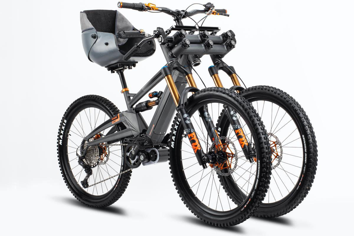 Plans call for the Orange Phase AD3 to initially be built in small batches, with each bike custom-made for its rider