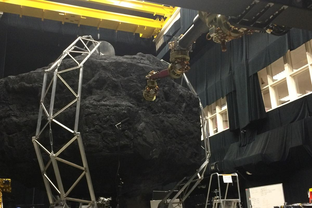 Robotic tests atNASA's Goddard Space Flight Center are part of the development of the ARM mission