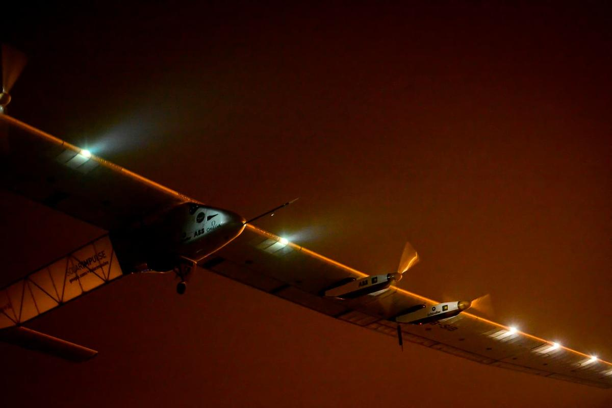 Solar Impulse 2 has taken off on the tenth leg of its round-the-world journey