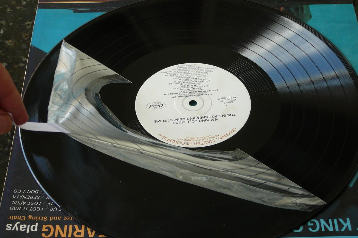 Removing Record Revirginizer from an LP
