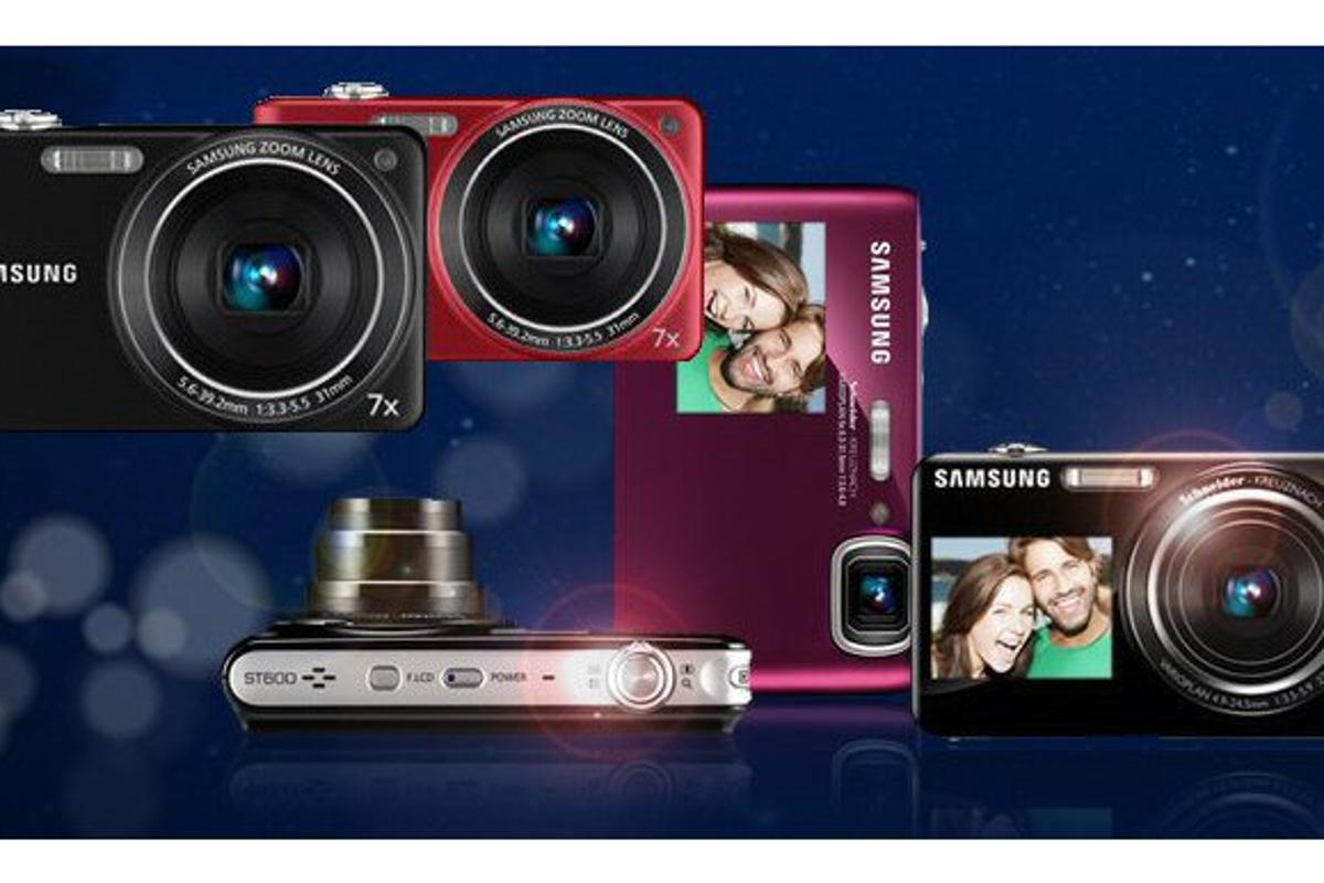 Samsung has announced two new Dual View digital camera models and a budget-friendly, HD-capable, feature-rich model too