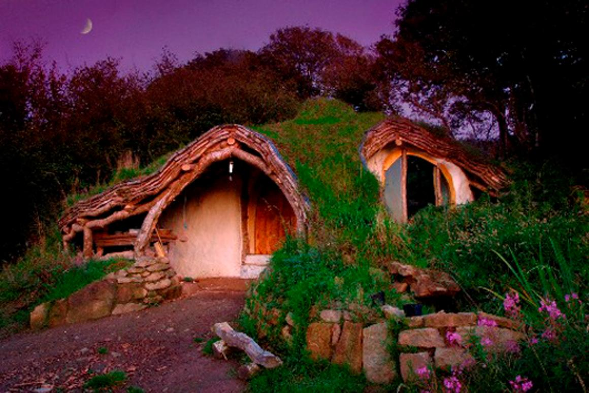 The 'Hobbit home' took three months to complete, and came in at under US$5,000 (GBP3,000) (Photo: Simon Dale)