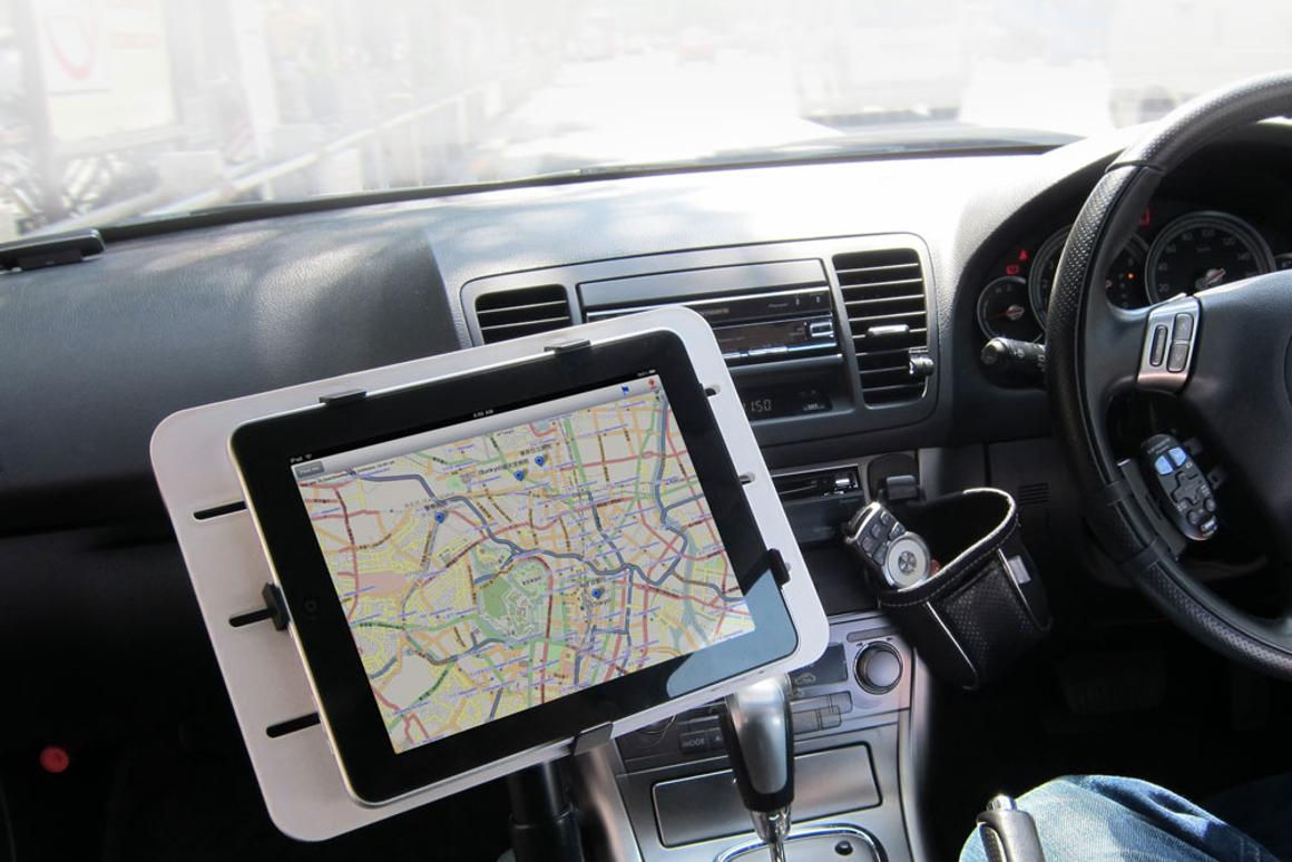 Thanko's Car Laptop Holder for iPad