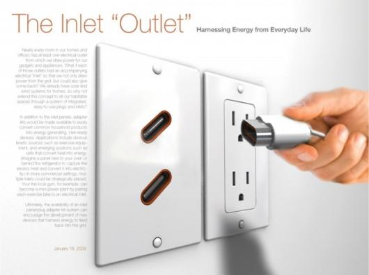 The presumably 'knife friendly' Inlet OutletPic credit: core77