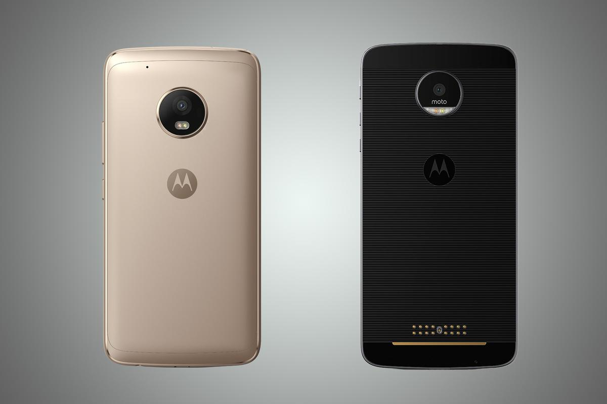 New Atlas compares the features and specs of the Moto G5 Plus (left) and Moto Z