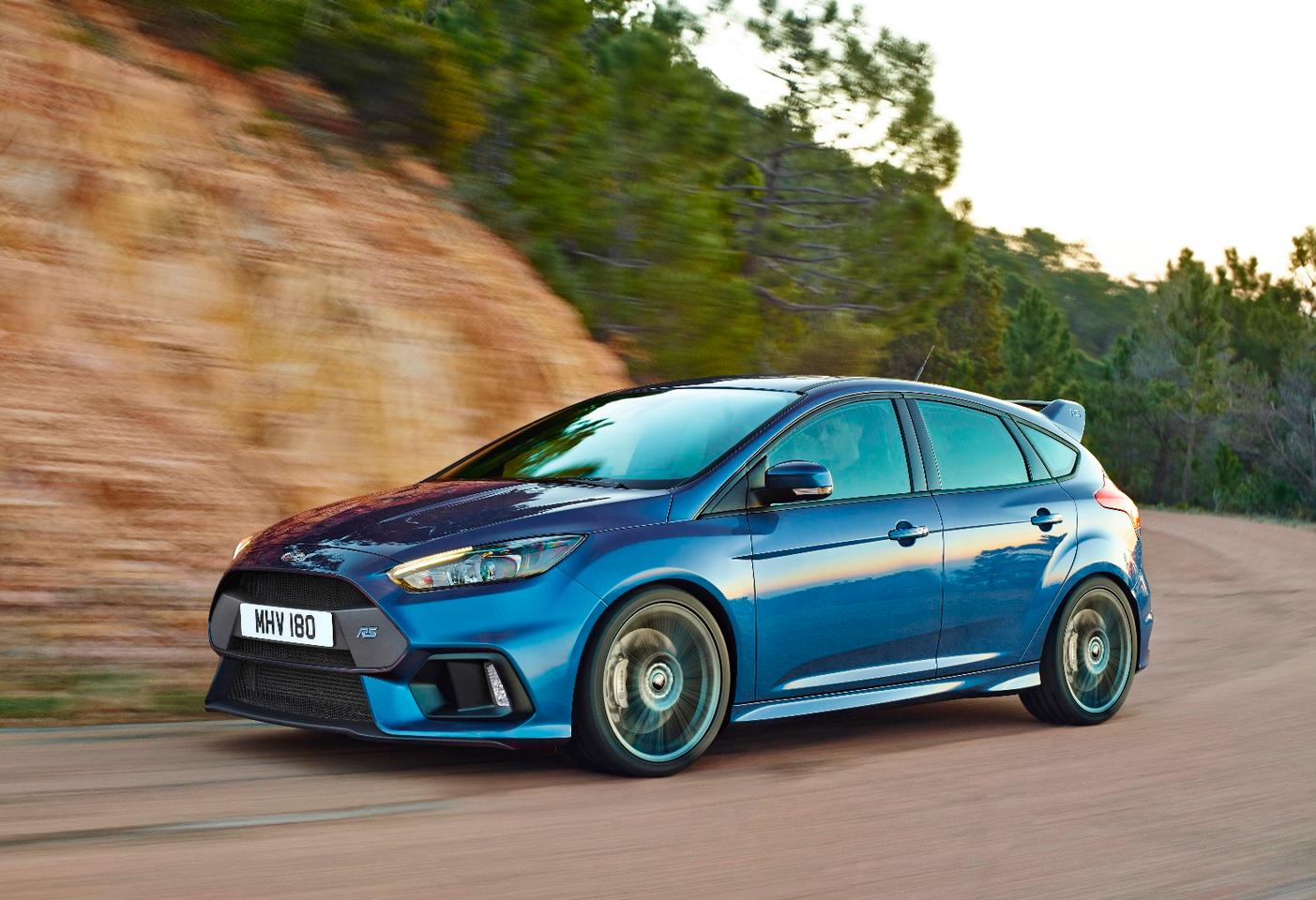 Focus RS: Power comes from a 2.3-liter EcoBoost engine