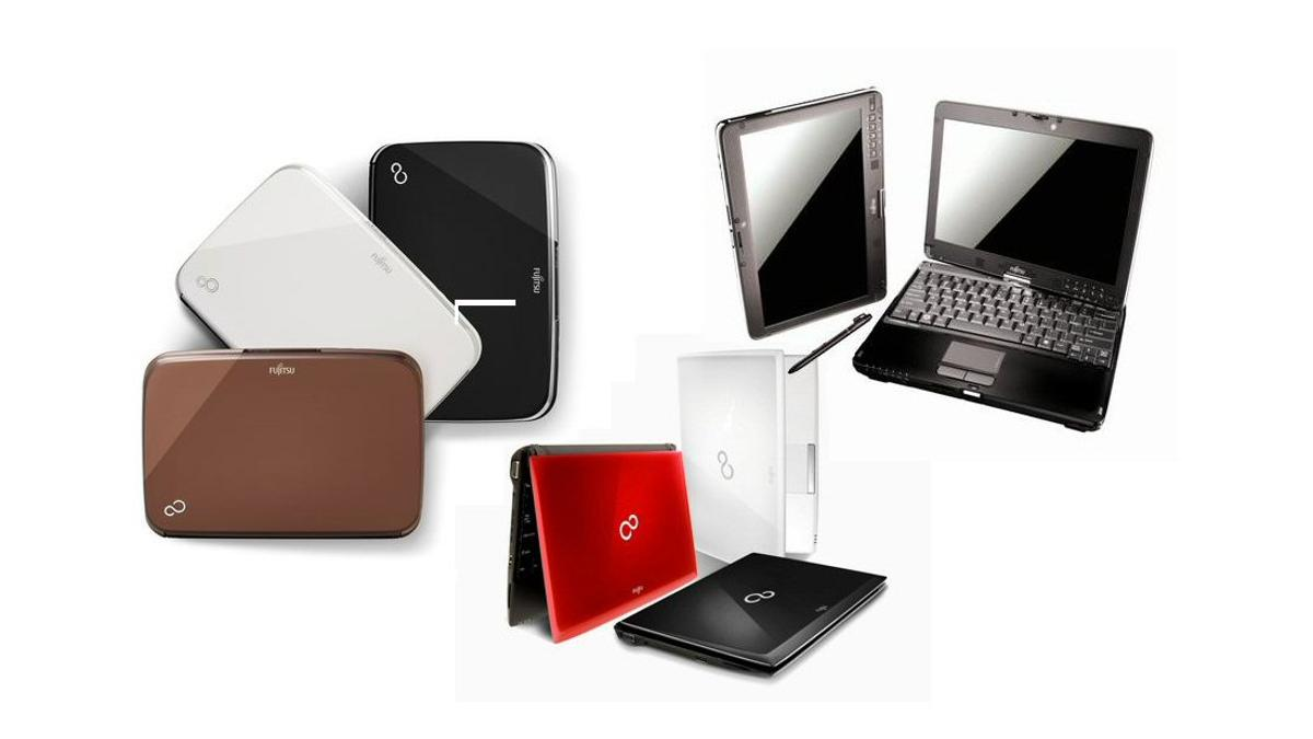 Fujitsu has launched an enhancement and three new additions to the company's LifeBook range, the MH330, MH380, TH700 and T730