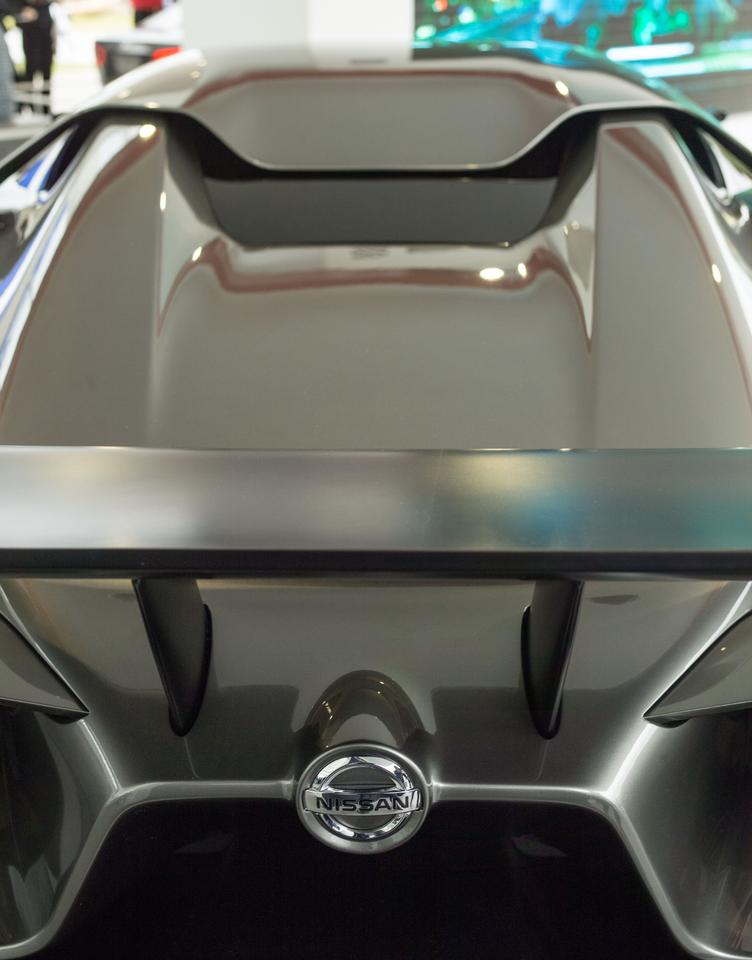 Rear detail of the Concept 2020 Vision Gran Turismo