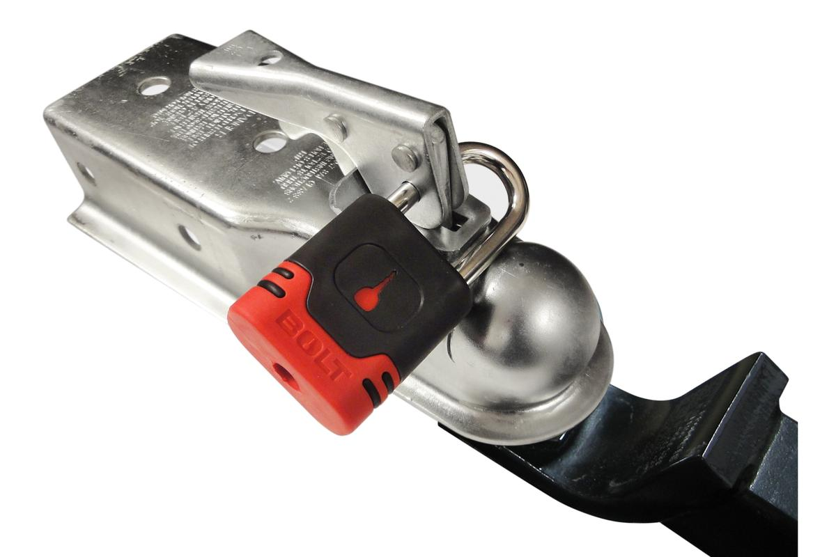 The BOLT padlock system allows you to open multiple padlocks using your vehicle's ignition key