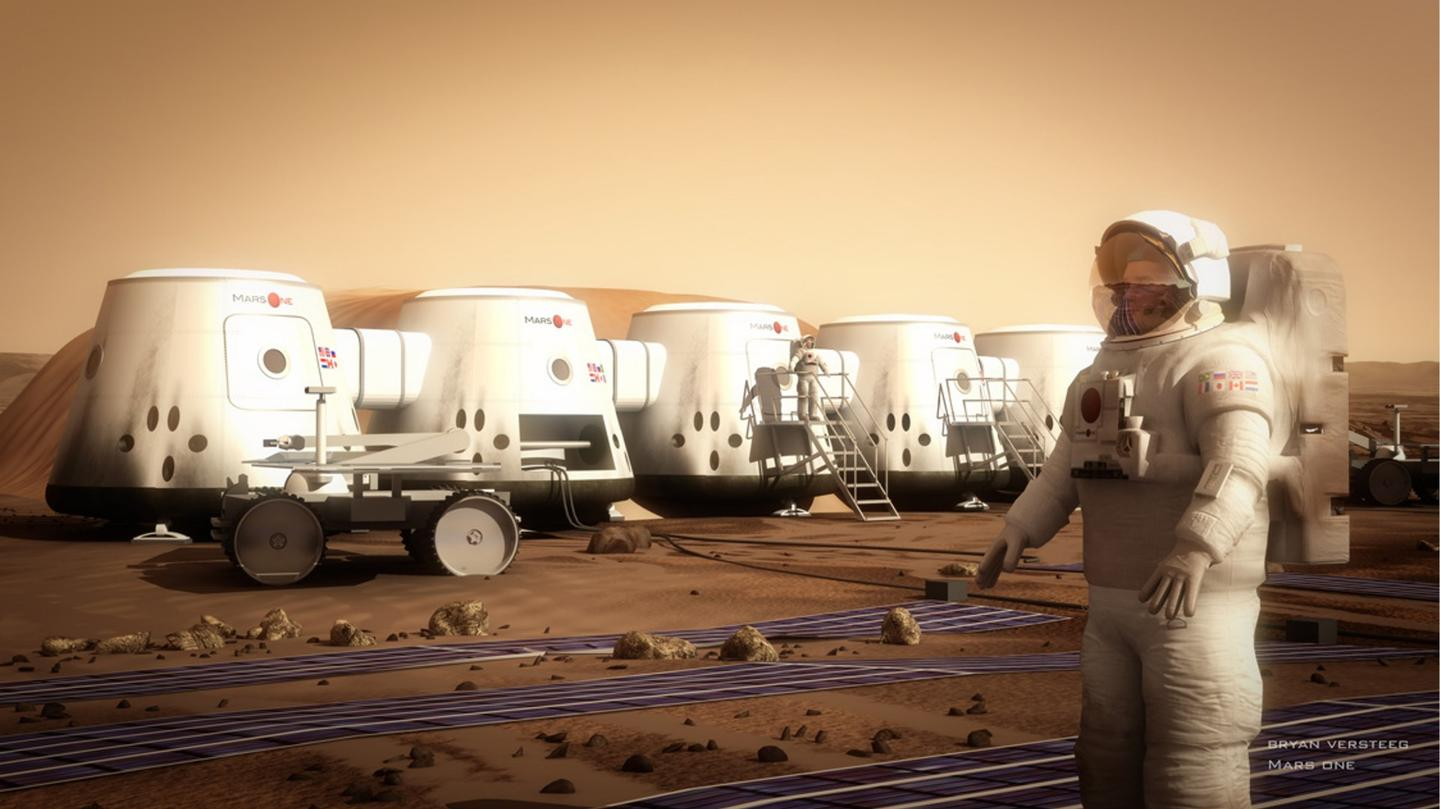Mars One planned to colonize Mars with volunteers on a one-way mission