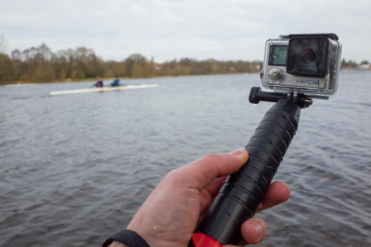 The Joby Action Grip is a floating handle for your actioncam (Photo: Simon Crisp/Gizmag.com)