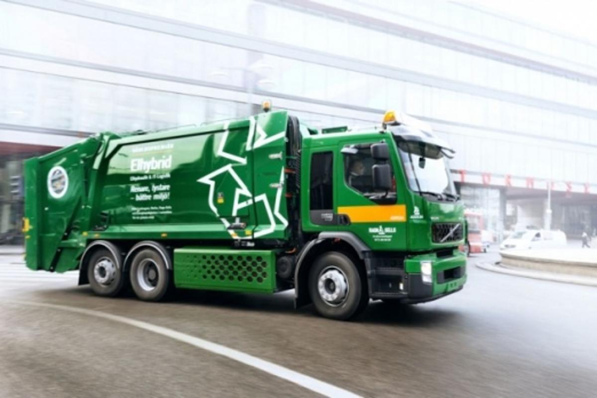 Volvo hybrid truck (Ragn-Sells)