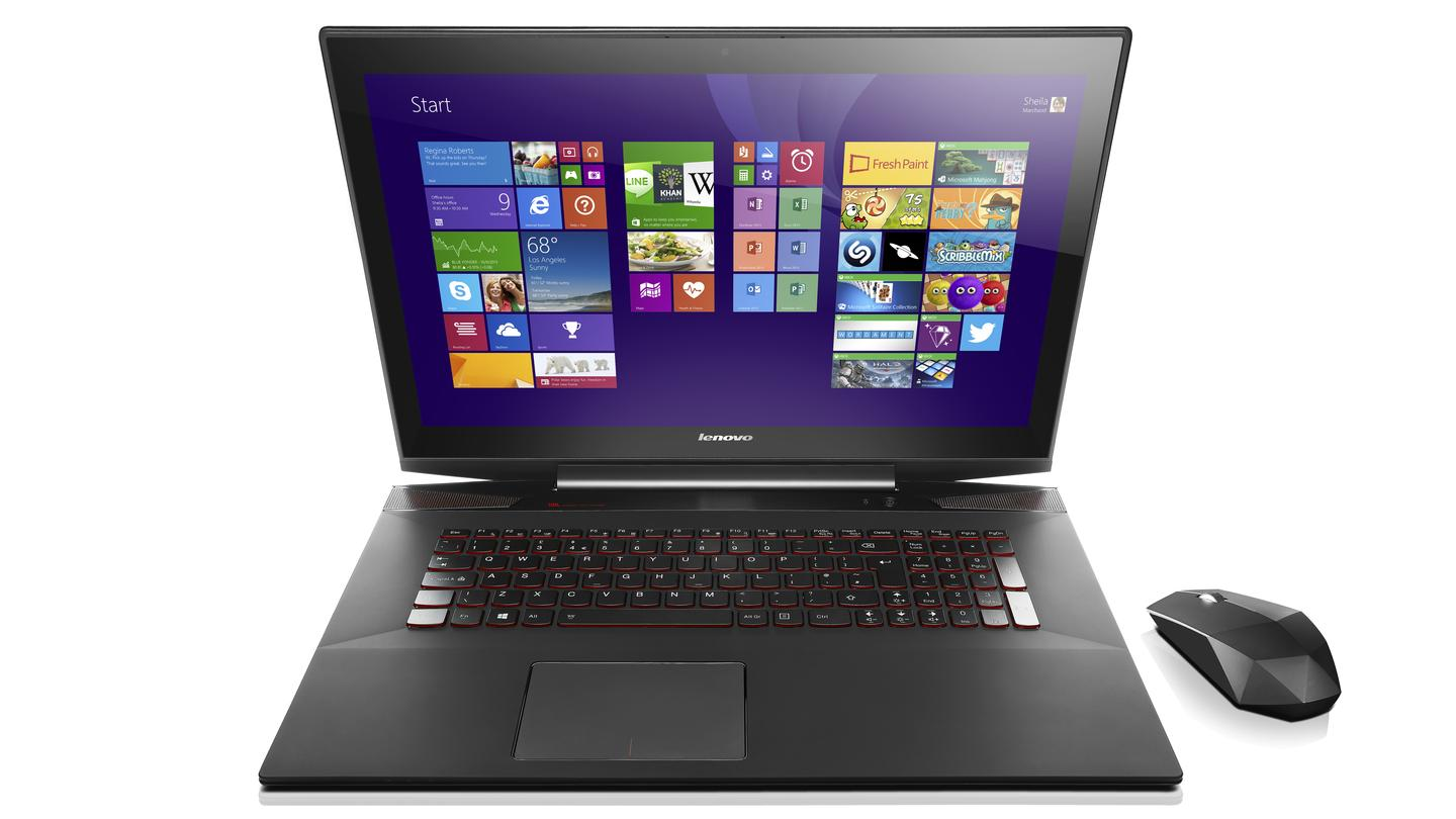 Lenovo's Y70 Touch gaming laptop