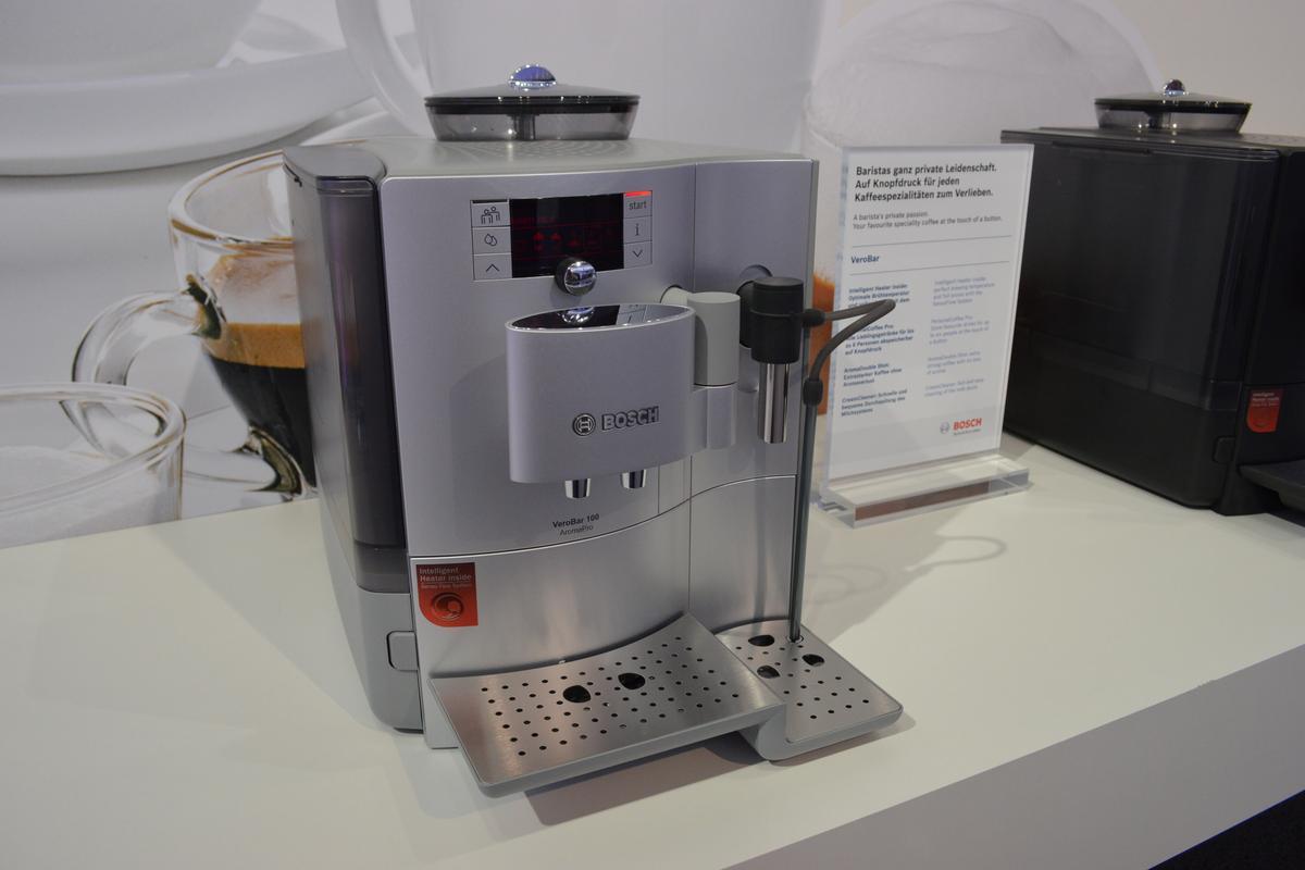 Bosch's VeroBar AromaPro coffee maker