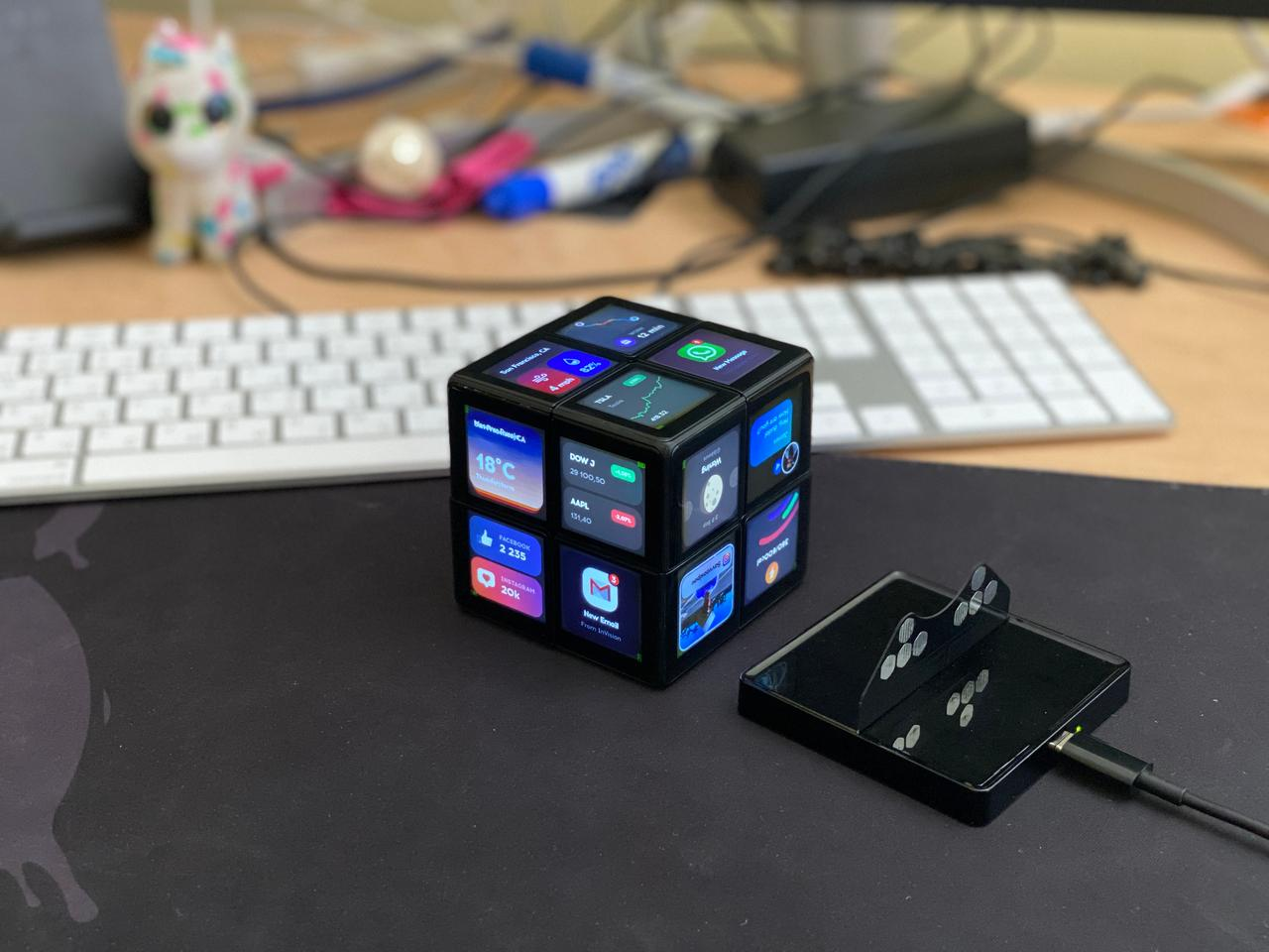 The WowCube can be used for more than just gaming