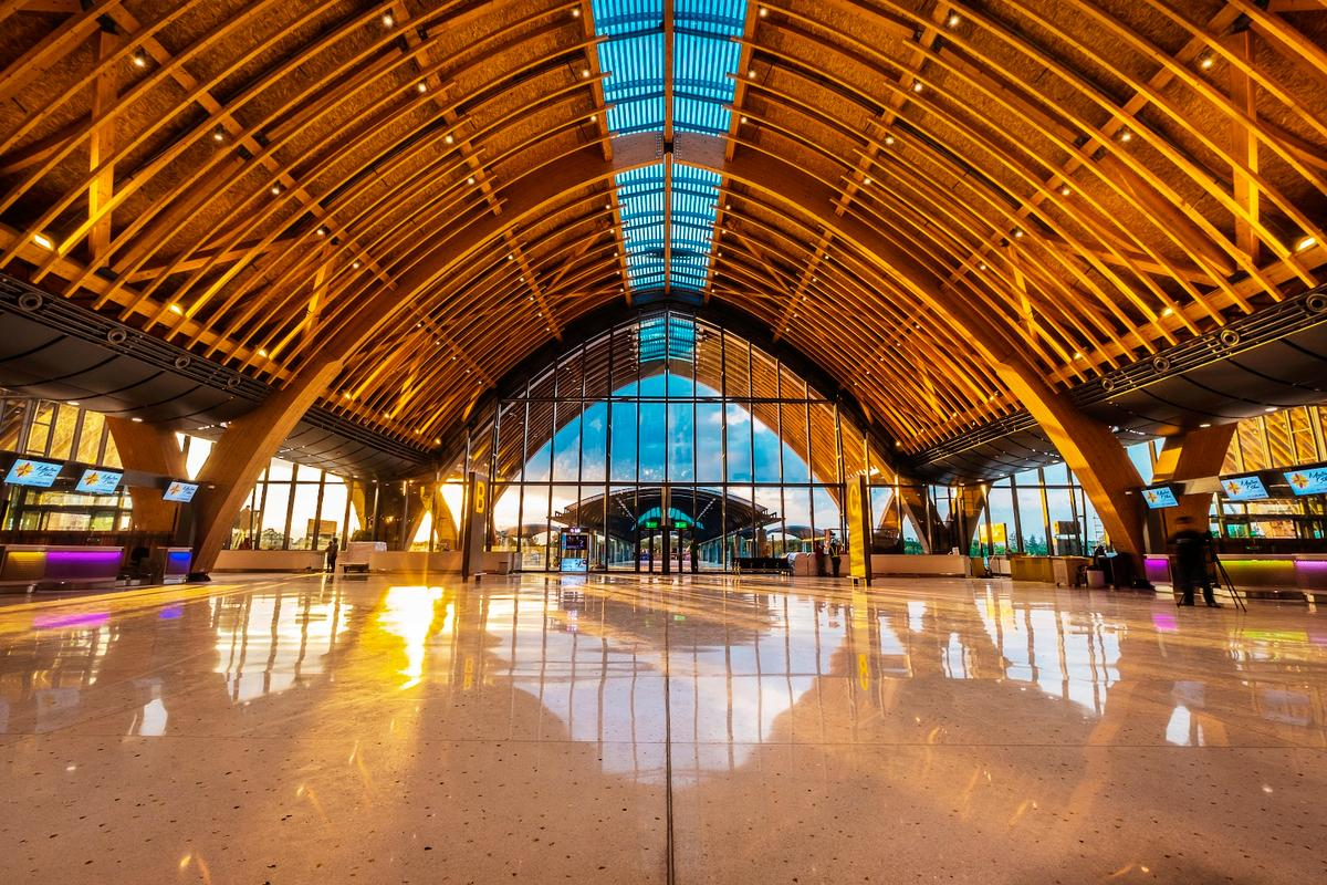 The Mactan Cebu International Terminal 2 project took three years to construct and cost US$327 million