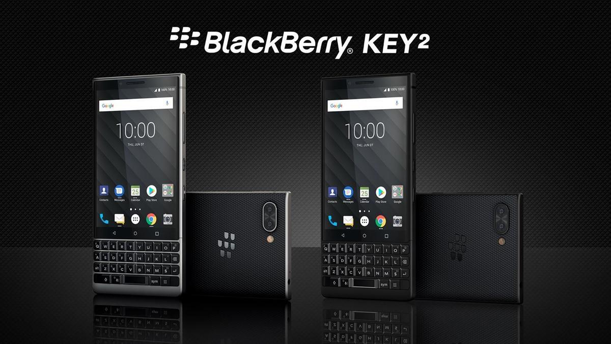 The BlackBerry Key2 follows last year's KeyOne