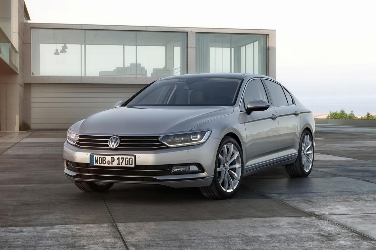 The 8th-generation Volkswagen Passat