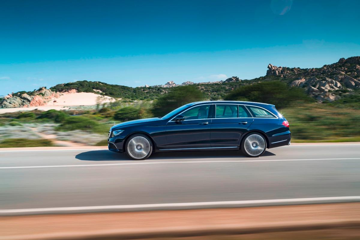 The E-Class estate is available with seven different engines