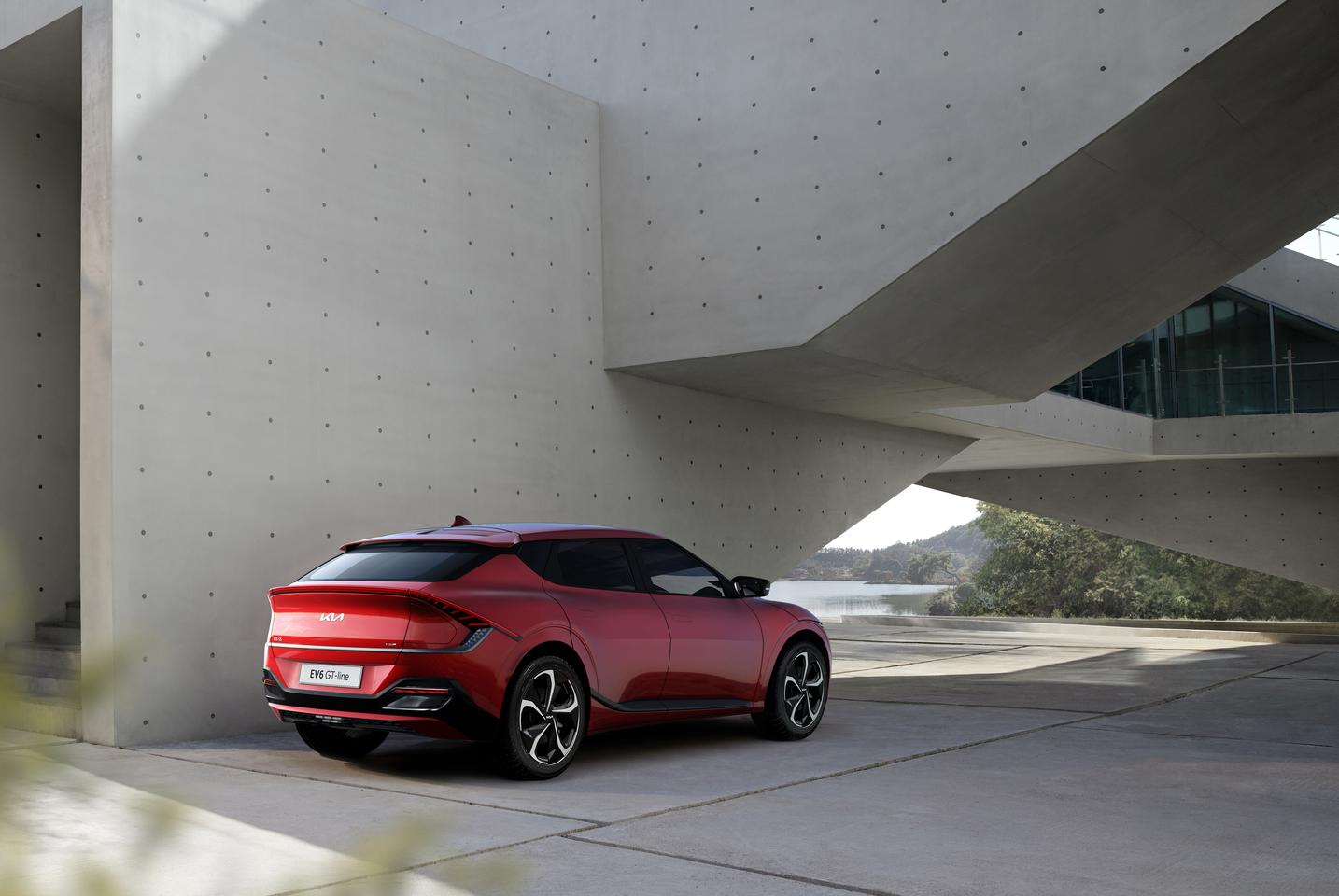 When equipped with the dual-motor GT powertrain, the EV6 sprints to 62 mph in 3.5 seconds