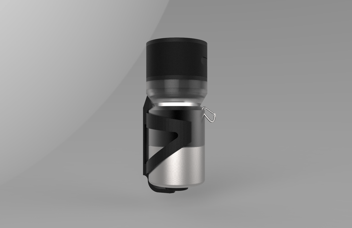 Another Fuseconcept now in the initial development stages, this thermoflask is designed to fit in a bicycle water bottle cage