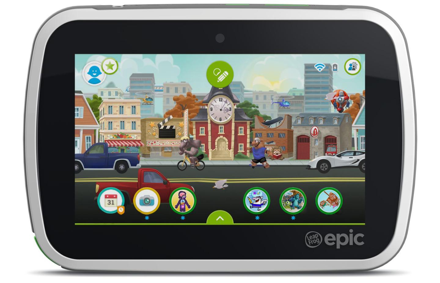The LeapFrog Epic tablet has been designed to offer a customized experience which can grow with the child