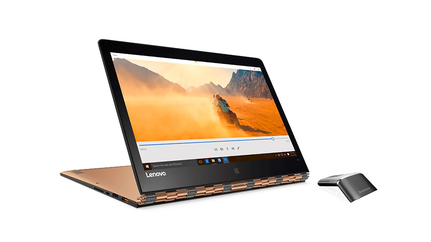 """The new Yoga 900 2-in-1 in """"Stand Mode"""""""